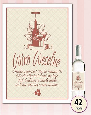 Model N42 na wino