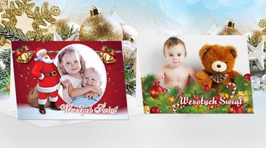 Kartki świąteczne ze zdjęciem