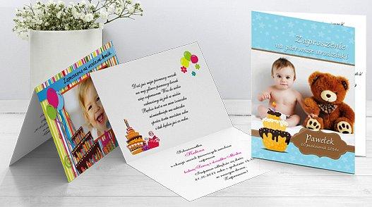 Zaproszenia urodzinowe dla dzieci