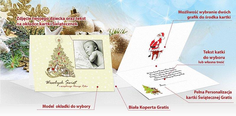 Fotokartki świąteczne opis - model 11
