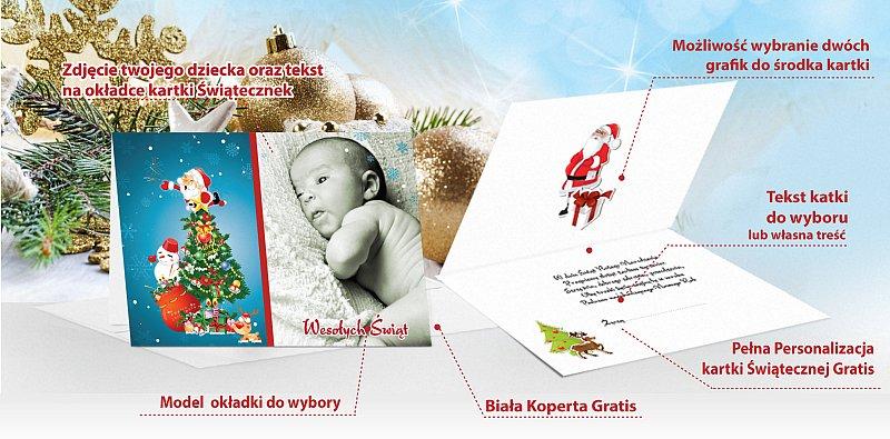 Fotokartki świąteczne - model 1