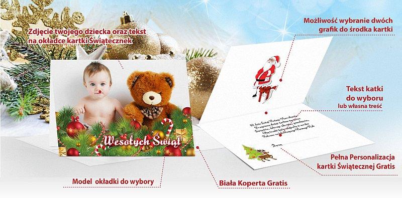 Kartki świąteczne oferta - model 8