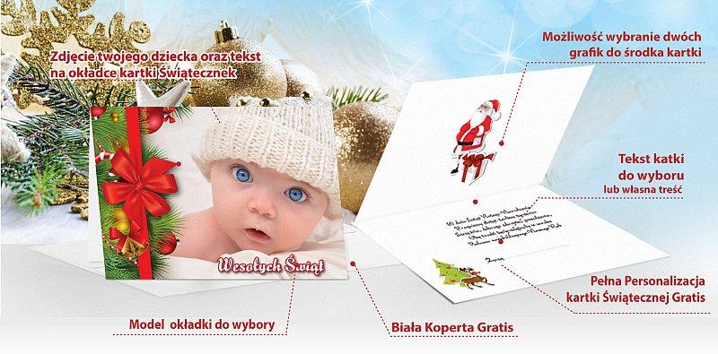 Kartki świąteczne opis - model 9