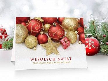 Kartki świąteczne - model 10