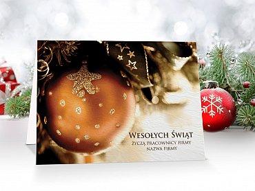 Kartki Świąteczne Firmowe model 11
