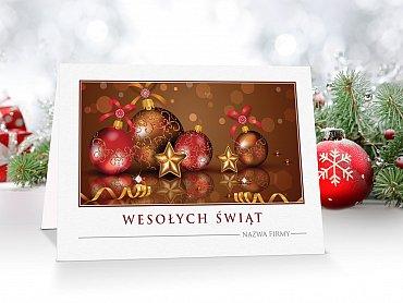 Kartki Świąteczne Firmowe model 12