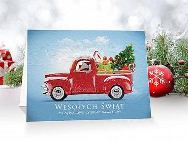 kartki świąteczne - model 13