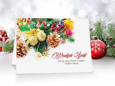Kartki Świąteczne Firmowe model 15