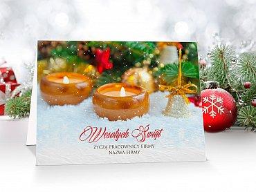 Kartki Świąteczne Firmowe model 17