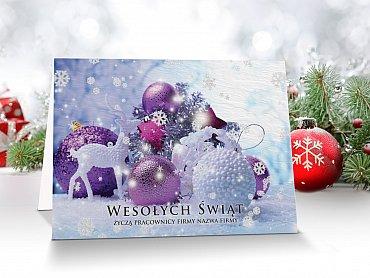 Druk kartke świątecznych z twoim logo