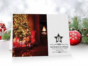 Kartki Świąteczne Firmowe model 20