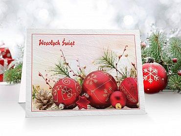 Kartki Świąteczne Firmowe model 21