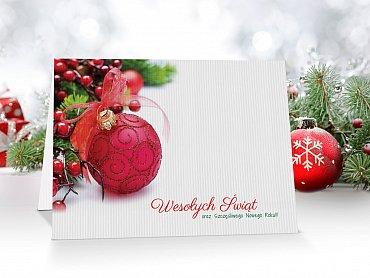 Kartki Świąteczne Firmowe model 27