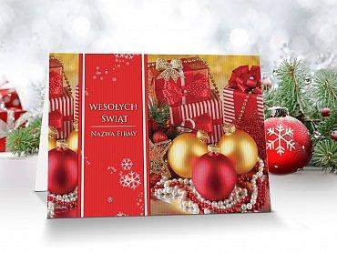 Kartki Świąteczne Firmowe model 3