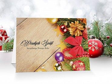 Kartki Świąteczne Firmowe model 30