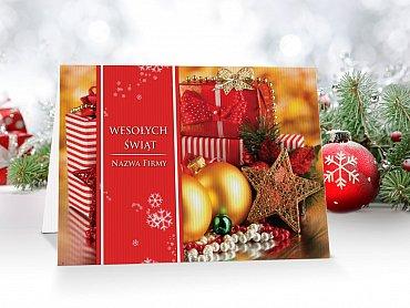 Kartki Świąteczne Firmowe model  38
