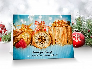 Kartki Świąteczne Firmowe model 6