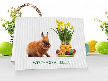 Kartki świąteczne Wielkanocne - model 1
