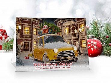 Kartki świąteczne z własnym Logo