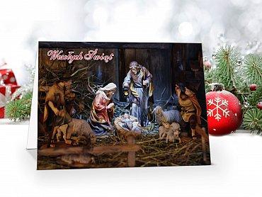 Kartki świąteczne ze zdjęciem - model 56