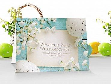 Kartki Wielkanocne firmowe z logo - model 6