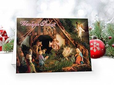 Kartki świąteczne - model 60