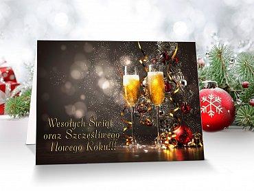 Kartki świąteczne dla firm - model 7