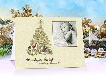Fotokartki świąteczne - model 11