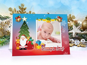 Kartki świąteczne - model 1