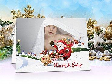 Fotokartki świąteczne model 1