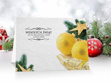 Kartki świąteczne firmowe - model 43