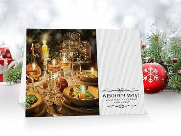 Kartki świąteczne dla firm - model 44