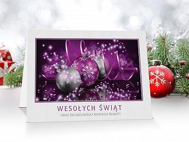 Kartki świąteczne dla firm - model 45