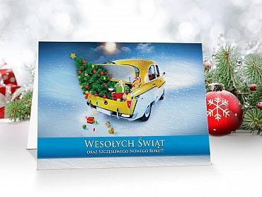 Kartki świąteczne dla firm - model 46