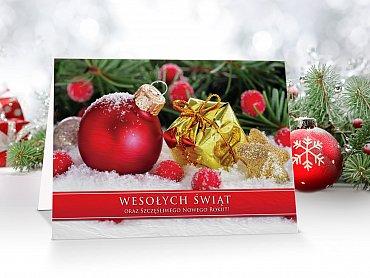 Kartki świąteczne dla firm - model 42