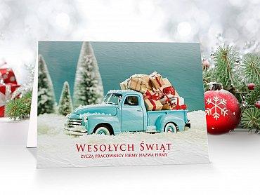Kartki świąteczne dla firm - model 47