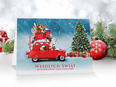 Kartki świąteczne dla firm - model 49