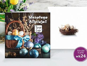 Kartki Wielkanocne Firmowe Model wk24