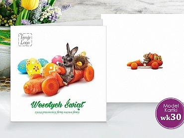 Kartki Wielkanocne Firmowe Model wk30