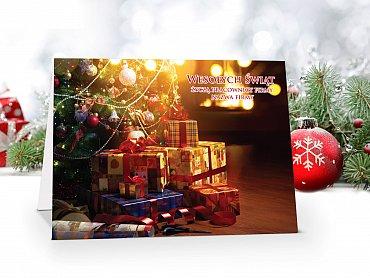 Kartki Świąteczne Firmowe model 82