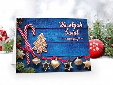 Kartki Świąteczne Firmowe model 92