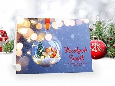Kartki Świąteczne Firmowe model 95
