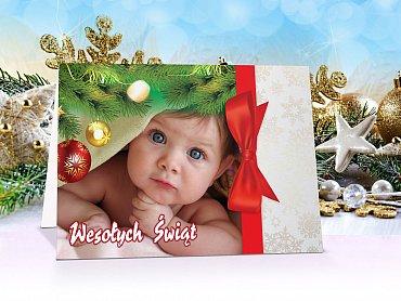 Fotokartki świąteczne - model 13