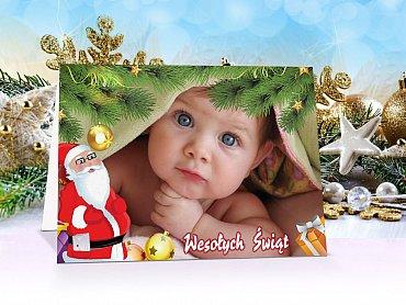 Fotokartki świąteczne - model 4