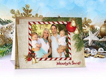 FotoKartki Świąteczne z własnym zdjęciem - model 17