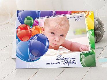 Zaproszenia urodzinowe dla dzieci Model r1