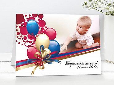 Zaproszenia urodzinowe dla dzieci Model r12