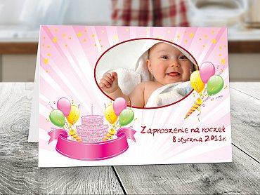 Zaproszenia urodzinowe dla dzieci Model r13