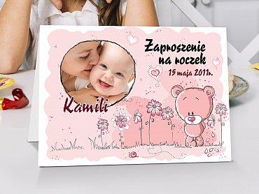 Zaproszenia urodzinowe dla dzieci Model r15