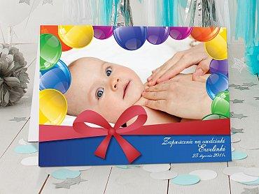 Zaproszenia urodzinowe dla dzieci Model r17